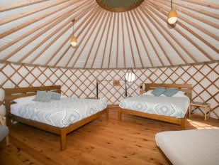 Double Queen Yurt