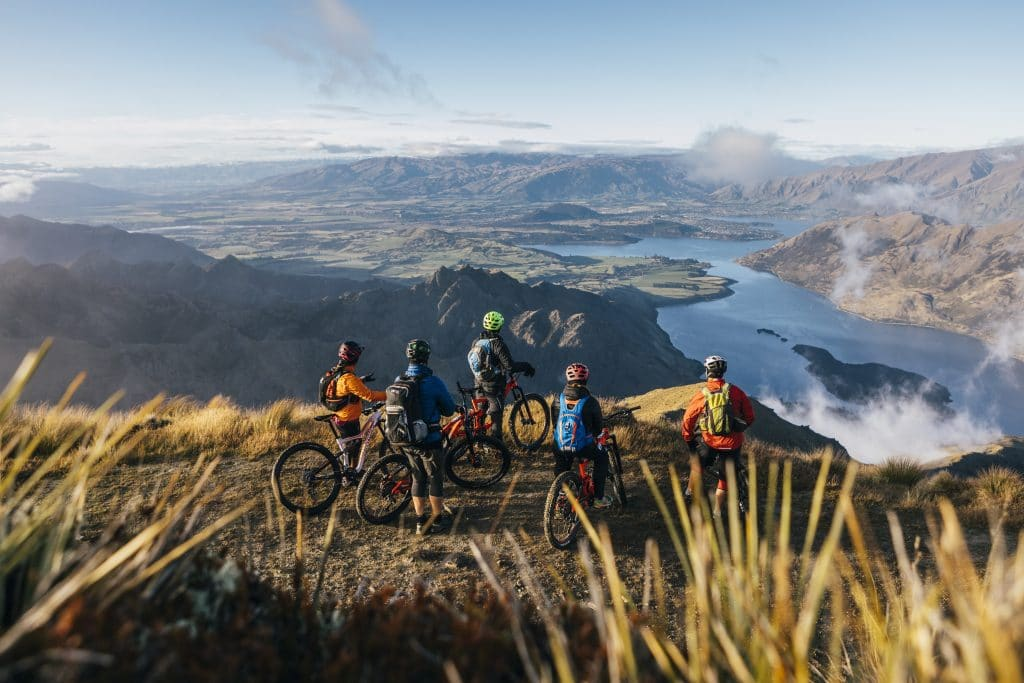 Heli Biking in Wanaka