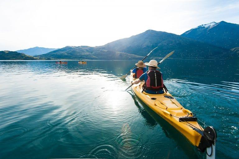 Paddle Wanaka kayaking