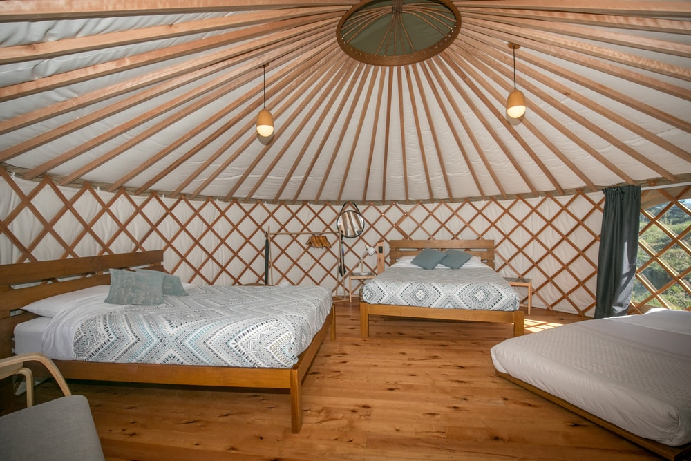 Group & Family Yurts at Oasis Yurt Lodge, Wanaka New Zealand