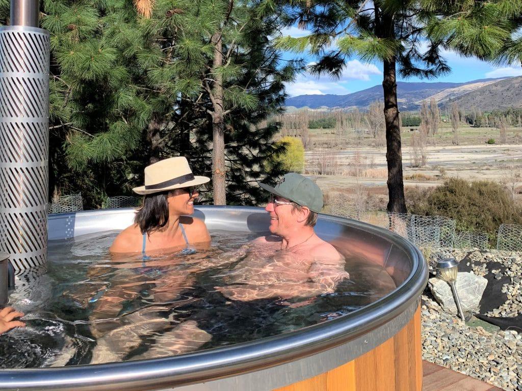 Fi Allan Hot Tub