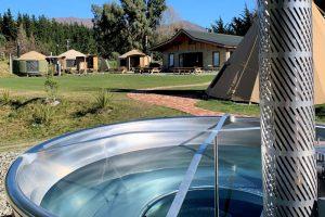 Hot Tub at Lodge